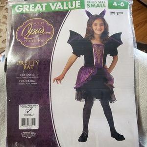 Pretty Bat Child Costume